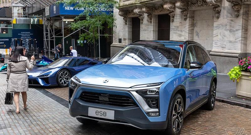 chinese electric vehicle stocks